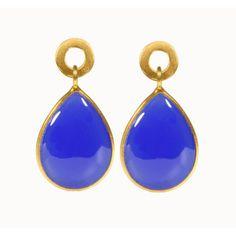 pretty blue earrings