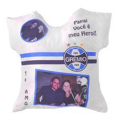 Almofada formato camiseta c  Enchimento Personalizada Seleção time 5c176871dd024