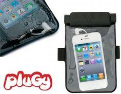 Waterproof Phone Pocket (headphones) Find it on PlugyPromotion.com