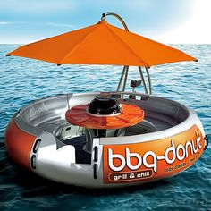 BBQ Donut Boat from Picsity.com