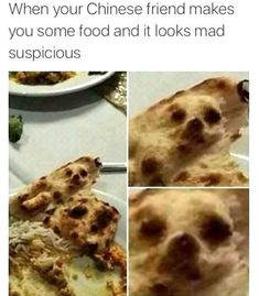 I was eating my food and noticed a chihuahua staring at me. - Real Funny has the best funny pictures and videos in the Universe! Quesadilla, South Beach, Miami Beach, Oui Oui, Naan, Me As A Girlfriend, I Foods, Dog Food Recipes, Funny Pictures