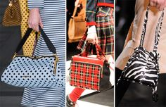 Fall/ Winter 2013-2014 Handbag Trends - Printed Bags