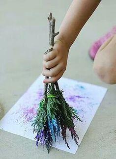 art using nature for kids * art using nature for kids ` kids art using nature ` art projects for kids using nature Kids Crafts, Projects For Kids, Diy For Kids, Art Projects, Summer Crafts, Summer Art, Easy Crafts, Theme Nature, Art Nature