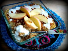 Apple Quinoa Breakfast Porridge
