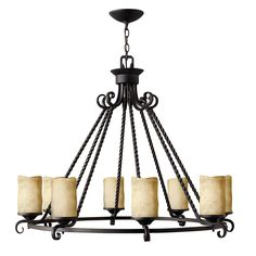 Buy the Hinkley Lighting Olde Black Direct. Shop for the Hinkley Lighting Olde Black Casa 8 Light Wide Pillar Candle Chandelier and save. Round Chandelier, Candle Chandelier, Rustic Chandelier, Black Chandelier, Chandelier Ceiling Lights, Chandelier Shades, Chandelier Ideas, Wagon Wheel Chandelier, Hinkley Lighting