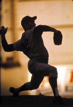 Sandy Koufax, Philadelphia, 1964, photo taken by Walter Iooss Jr.