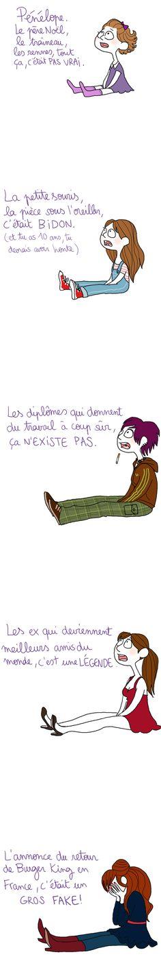 La vie n'est qu'illusions... / Get over it !