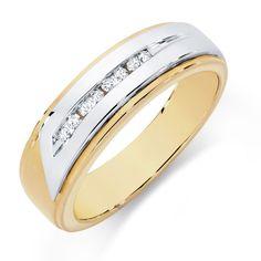 Men's Diamond Rings for More Luxury
