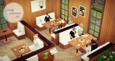 7 Ideeen Over Sims 4 Lots Restaurantontwerp Restaurant Interieurs Bar Interieur