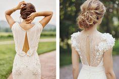 Una de mis obsesiones son los vestidos de novia con detalles en la espalda ¡Me…