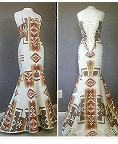 Irene Begay Designed Native American Wedding Dress