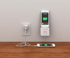 Rolio, base para iPhone de carga que organiza tu cable Lightning