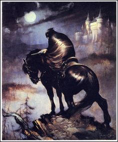 frazetta:  The Rider.
