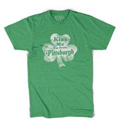 For this shirt, we went with a Green poly-cotton tee and a fashion fit. Slightly slimmer than our athletic fit. Exceptionally soft, and has a textured look that adds to its vintage charm. May shrink a