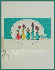Vivid vases stampin up