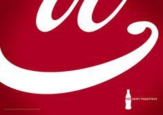 【廣告創意】分解可口可樂LOGO來大玩創意廣告