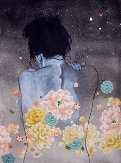 """Every adversity, every failure, every heartache carries with it the seed of an equal or greater benefit."" - Napoleon Hill Artist: Stasia Burrington"