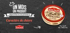 Il a tout d'un camembert... Le caractère de chèvre !  #Soignon #fromage #cheese