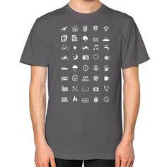 IconSpeak Unisex T-Shirt (on man)