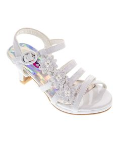 539fcffce0a43 This Josmo White Flower Sandal by Josmo is perfect!  zulilyfinds Soulier