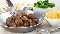 Kj& med brokkoli og s& Dinner Side Dishes, Dinner Sides, Mince Recipes, Healthy Recipes, Healthy Food, Indian Food Recipes, Ethnic Recipes, Lunch, Vegetables