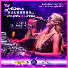 #DJ @ParisHilton kicks off her #AmnesiaResidency, tomorrow evening at #AmnesiaIbiza! You don't want to miss this event, #LittleHiltons! #Beauty #BigRoomHouse #Club #ComeAlive #Dance #DJs #EDM #ElectroHouse #Electronic #FoamAndDiamonds #FoamParty #GoodTime #HighOffMyLove #HouseMusic #Ibiza #IbizaOpeningParty #Ibiza2015 #Music #Nightclubs #ParisHilton #PHDancers #Photography #ProgressiveHouse #Rave https://tickets.amnesia.es/parishilton_list/#sf-events  http://www.justleds.co.za