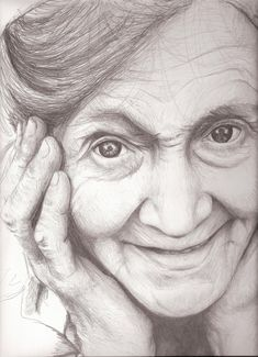 Old lady -  not finished by EshiraArt.deviantart.com on @DeviantArt