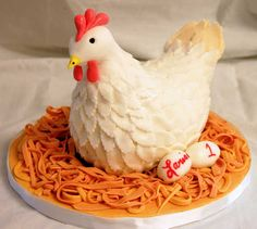 Homepage of Cake Art Studio Chicken birthday cake