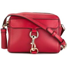 Rebecca Minkoff tassel detail crossbody bag (725 BRL) ❤ liked on Polyvore featuring bags, handbags, shoulder bags, red, tassel handbags, red handbags, tassel purse, crossbody shoulder bags and red shoulder bag