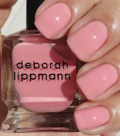 Deborah Lippmann My Romance|  This line is gluten free, formaldehyde free and toluene free. #EssentialBeautySwatches | BeautyBay.com