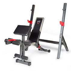 CAP Barbell Strength Olympic Bench with Preacher Pad #deals