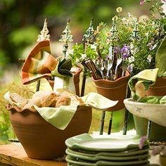 Create a Themed Outdoor Buffet