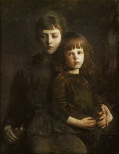 Abbott A. Thayer - Brother and Sister