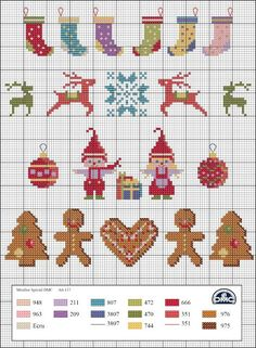 Ideas Embroidery Christmas Stocking Cross Stitch Patterns For 2019 - Cross stitch embroidery - Tiny Cross Stitch, Xmas Cross Stitch, Cross Stitch Kits, Counted Cross Stitch Patterns, Cross Stitch Charts, Cross Stitch Designs, Cross Stitching, Cross Stitch Embroidery, Christmas Cross Stitch Patterns