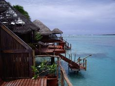 Cook Islands Bungalows | Cook Islands Aitutaki Overwater Bungalows Picture Page 7