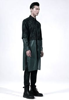 PATH Oversize Long Shirt