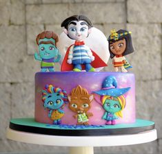 Monster Birthday Cakes, Monster 1st Birthdays, 5th Birthday Cake, Monster Cupcakes, Monster Birthday Parties, Girl Birthday Themes, Baby Girl First Birthday, Dinosaur Birthday Party, Monster Party