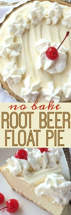 Use sugar free instant pudding. Creamy, cool, light & refreshing! This root beer float pie is the perfect treat on those hot sunny days. Only a few minutes of prep and then some freezer time and you have an easy, no bake pie that tastes EXACTLY like a root beer float!