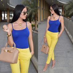 Laura Badura - Blue Meets Yellow
