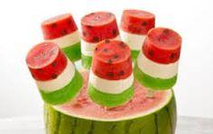 Watermelon popcicals