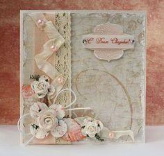 Свадебные открытки ручной работы. Ярмарка Мастеров - ручная работа. Купить Открытка свадебная. Handmade. Свадебная открытка, бумага для скрапбукинга