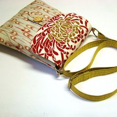 Vintage Kimono And Obi Purse Bubble by tamamikobag