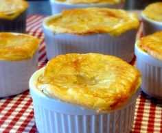 """Sausage Pizza Pot Pies.  A definite """"must try"""""""