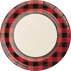 Buffalo Plaid Dinner Plates are disposable paper plates with red and black plaid printed on them. Serve up your entire fall harvest at a picnic or lumberjack party on these large paper plates! Party Plates, Party Tableware, Dinner Plates, Halloween Costume Shop, Halloween Costumes For Kids, Lumberjack Party, Disposable Tableware, Kids Party Supplies, Plaid Design