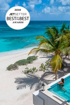 And the winner for the Best on the Beach goes to... Zemi Beach House Resort & Spa in Antigua. Jetsetter's 2016 Best of the Best Awards #BestAwards