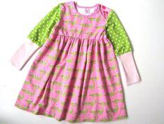 """Kleid """"Croco Chranel"""" von millibitschi auf DaWanda.com"""