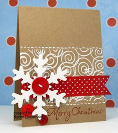 IC259, CAS93, Snowy Christmas by k dunbrook - Cards and Paper Crafts at Splitcoaststampers