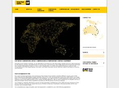 CAT Rental Power: Web design and development