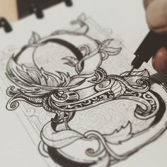 Awesome progress shot. Type by @r_ozelwear | #typegang if you would like to be featured | typegang.com | typegang.com #typegang #typography