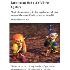You can just hear the *shh but not shh inhale through teeth noise* coming from the female inkling Super Smash Bros Memes, Nintendo Super Smash Bros, Super Mario Bros, Video Game Memes, Video Games Funny, Funny Games, Splatoon Memes, Splatoon Comics, Super Smash Ultimate